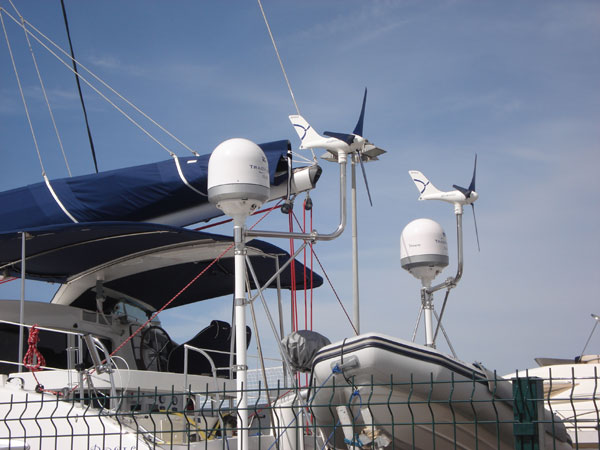 Silentwind Marine Wind Turbine is extremely quiet by using hand ...
